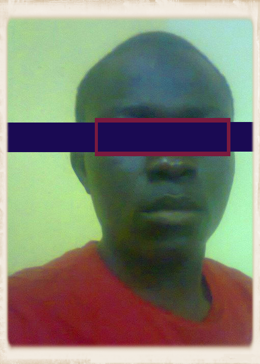 "This is ""ChaL"" – his picture was altered by Friends Ugandan Safe Transport to protect his identity."